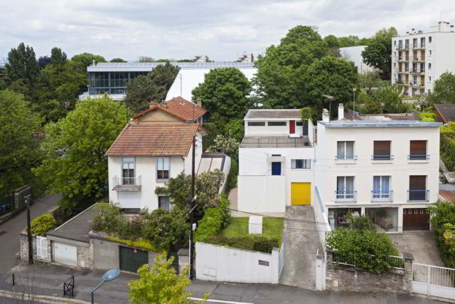 Van Doesburg studio house at the Rue Charles Infroit in Meudon-Val-Fleury, 2012, Phot Hervé Abbadie