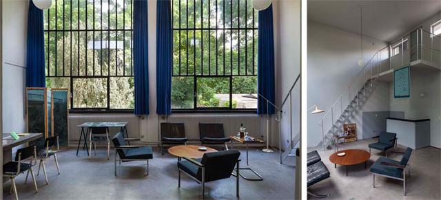 vandoesburghuis - interieur atelier